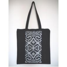 Čipkasta tekstilna vrečka z zadrgo