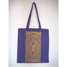 Tekstilna vrečka z dolgimi ročaji